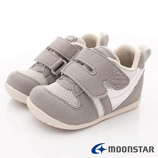 MOONSTAR-日本月星頂級童鞋 MSB77S67灰(寶寶段)