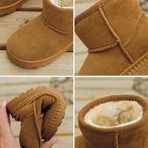 兒童雪地靴男韓版新款秋冬保暖童鞋加絨棉鞋女童靴子寶寶棉鞋