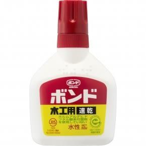 日本 KONISHI 小西 木工用 速乾白膠 50g /瓶 #10822