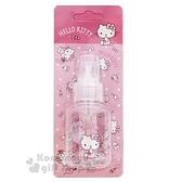〔小禮堂﹞Hello Kitty 噴霧式空瓶《粉.化妝品.點點褲》50ml.空罐.分裝瓶罐 5712977-46175