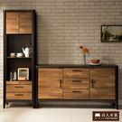 日本直人木業傢俱-BRAC層木152CM廚櫃/立櫃組