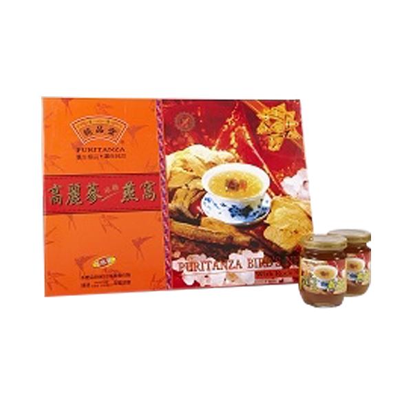 純品堂 高麗蔘冰糖燕窩禮盒(8瓶/盒)x1