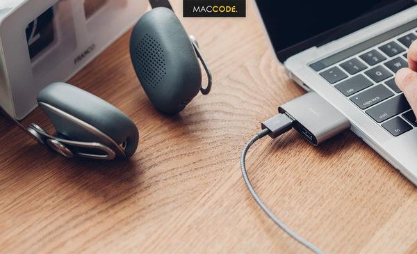 Moshi USB-C 轉 USB-A 3.1 雙端口 轉接器 公司貨