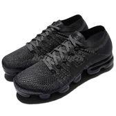 Nike Wmns Air VaporMax Flyknit 灰 黑 反光 飛線編織 大氣墊 運動鞋 女鞋【PUMP306】 849557-009