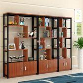 商業辦公家具辦公室柜子落地文件柜木質檔案柜屏風隔斷柜大博古架