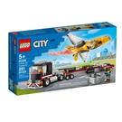 60289【LEGO 樂高積木】City 城市系列 - 空中特技噴射機運輸車