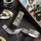 【5卷入】口紅手賬貼紙5卷日系復古故宮風手帳裝飾日記手賬DIY【聚寶屋】