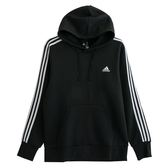 Adidas ESS 3S P/O B  連帽長袖上衣 BR3588 男 健身 透氣 運動 休閒 新款 流行