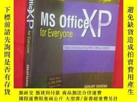 二手書博民逛書店MS罕見Office XP for Everyone (16開