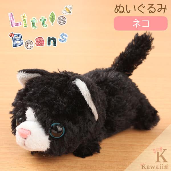 Hamee 日本 Little Beans 療癒小動物 絨毛玩偶 掌上型娃娃 (馬兒) 390-889484