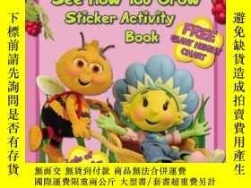 二手書博民逛書店See罕見How You Grow (fifi And The Flowertots, Sticker Activ
