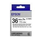 【高士資訊】EPSON 36mm LK系列 原廠 盒裝 防水 標籤帶 耐久型系列