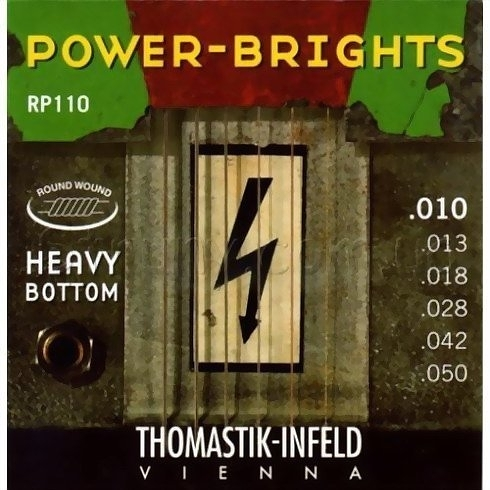 ☆唐尼樂器︵☆ Thomastik-Infeld POWER-BRIGHTS RP110 (10-50)手工電吉他弦