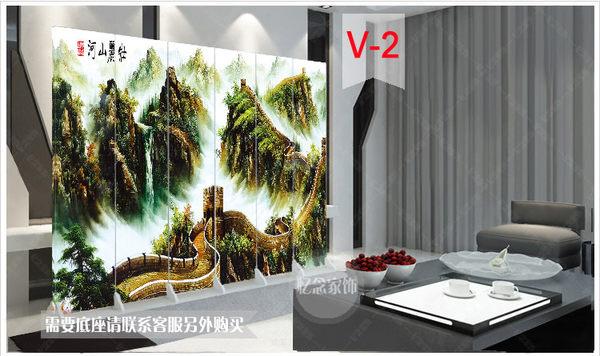 可訂製時尚屏風折疊折屏移動玄關簡約180cm*40cm YXS   潮流前線