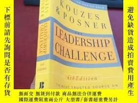 二手書博民逛書店英文原版:Kouzes罕見Posner——The Leaders