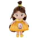 T-ARTS 迪士尼公主 貝兒閃亮梳髮絨毛娃娃娃_TA53427