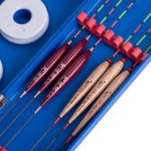 蘆王巴爾杉魚漂藍盒套裝加粗醒目漁漂鯽魚鯉魚底釣漂漁具 igo 薔薇時尚