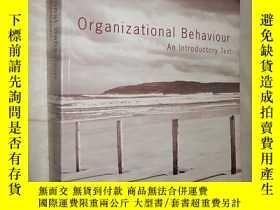 二手書博民逛書店Organizational罕見Behaviour: An In