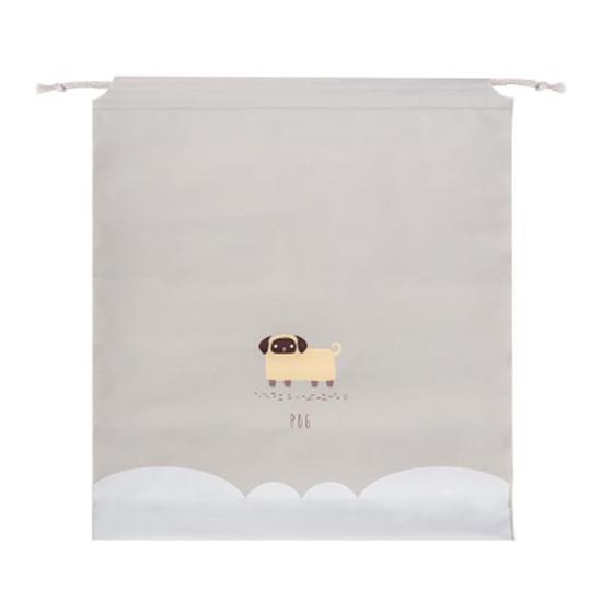 束口袋 密封袋 抽繩袋 整理袋 旅行 鞋袋 收納 分類袋 洗漱 抽繩收納袋 (小)【A007】米菈生活館