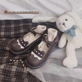 lolita鞋日系lolita可愛圓頭小皮鞋女學院風學生蝴蝶結軟妹娃娃鞋chic單鞋 衣間迷你屋