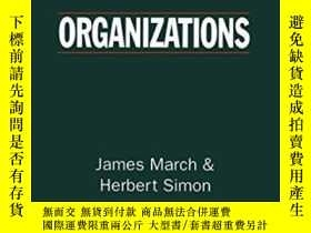 二手書博民逛書店罕見OrganizationsY255562 James G. March Wiley-blackwell