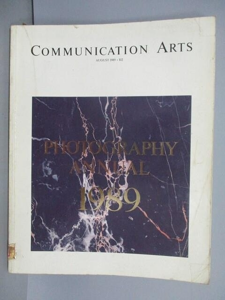 【書寶二手書T1/收藏_PID】Communication Art_Photography Annual_1989/8