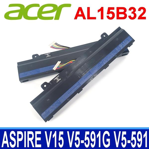 ACER AL15B32 原廠電池 Aspire V15 V5-591 V5-591G T5000 V5-591G-58ZR V5-591G-54CT V5-591G-58ZR 31CR V5-591G-75GP Li-Ion 3S2P