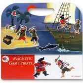 比利時 Egmont Toys 艾格蒙繪本風遊戲磁貼書:海盜船冒險故事