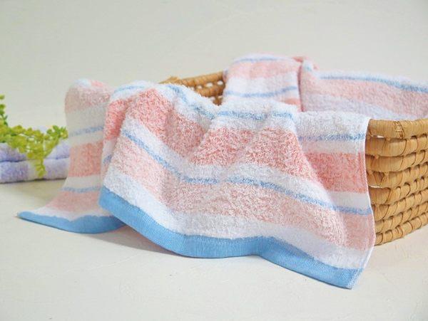 【クロワッサン科羅沙】日本~薄寬紋浴巾60x120cm (二色可選)