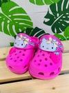 【震撼精品百貨】凱蒂貓_Hello Kitty~日本SANRIO三麗鷗 凱蒂貓兒童布希鞋-草莓(14~17號)#90300