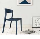 【歐雅系統家具】卡里納北歐餐椅-深藍 / 北歐風 / 單椅 / 多色 / 防水 / 好收納 / 圓角安全設計