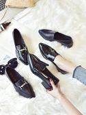 小皮鞋 ins小皮鞋子女新款秋冬季學生韓版百搭ulzzang英倫復古單鞋潮 卡菲婭