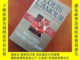 二手書博民逛書店Matagorda The罕見First Fast Draw: Two Novels in One Volume
