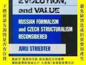 二手書博民逛書店【罕見】1989年出版 Literary Structure E
