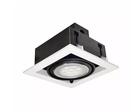 【燈王的店】LED AR111 7W 崁燈  白框 白光/黃光 ☆ TYL14-7W