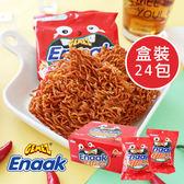 韓國 Enaak 重量包 香辣味大雞麵 香脆點心麵 (24包入/盒裝) 672g 小雞麵 大雞麵 辣味大雞麵 點心麵