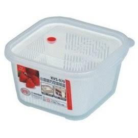 【好市吉居家生活】嚴選聯府KeyWay~KVS-970 小廚師方型保鮮盒