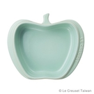 【LE CREUSET】瓷器迷你蘋果造型烤盤(甜薄荷)