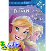 【103 美國直購】2014 美國銷書榜單 迪士尼 冰雪奇緣 A Tale of Two Sisters (Disney Frozen) (Step into Reading)