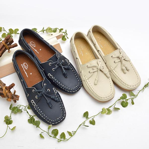 訂製鞋 全真皮柔軟綁結豆豆鞋-艾莉莎ALISA【880014】藍色下單區