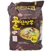 韓國不倒翁 牡蠣炒碼麵(130gx4包)【小三美日】泡麵/進口/團購