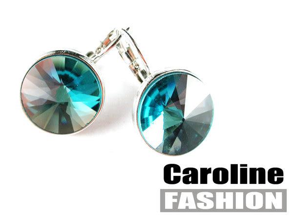 《Caroline》★奧地利施華洛世奇水晶時尚耳環17128