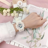林小宅手錶男女學生韓版簡約潮流ulzzang 非機械電子錶情侶運動錶 衣櫥秘密