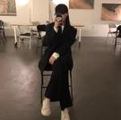 黑色寬鬆英倫風小西裝外套女春秋裝2019新款韓版休閒長袖西服上衣 嬌糖小屋