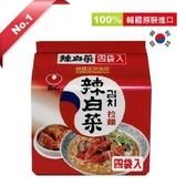 韓國農心辣白菜拉麵 x4包【愛買】