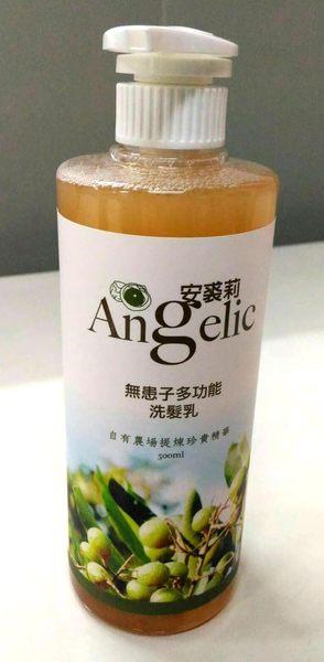 安裘莉 天然無患子洗髮乳 500ml/瓶 限時特惠
