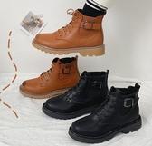 短靴 英倫風馬丁靴女夏季薄款透氣潮ins酷新款顯腳小短靴春秋單靴 聖誕節鉅惠