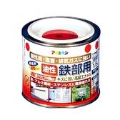 鐵製品防鏽油性面漆-紅0.2L