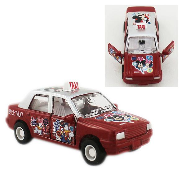 【卡漫城】 米奇 迴力車 Taxi ㊣版 米妮 玩具車 模型車 計程車 唐老鴨 Mickey Minnie 米老鼠 港版