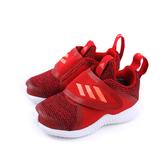 adidas FortaRun X Knit CF I 運動鞋 慢跑鞋 魔鬼氈 童鞋 紅色 小童 G27209 no776